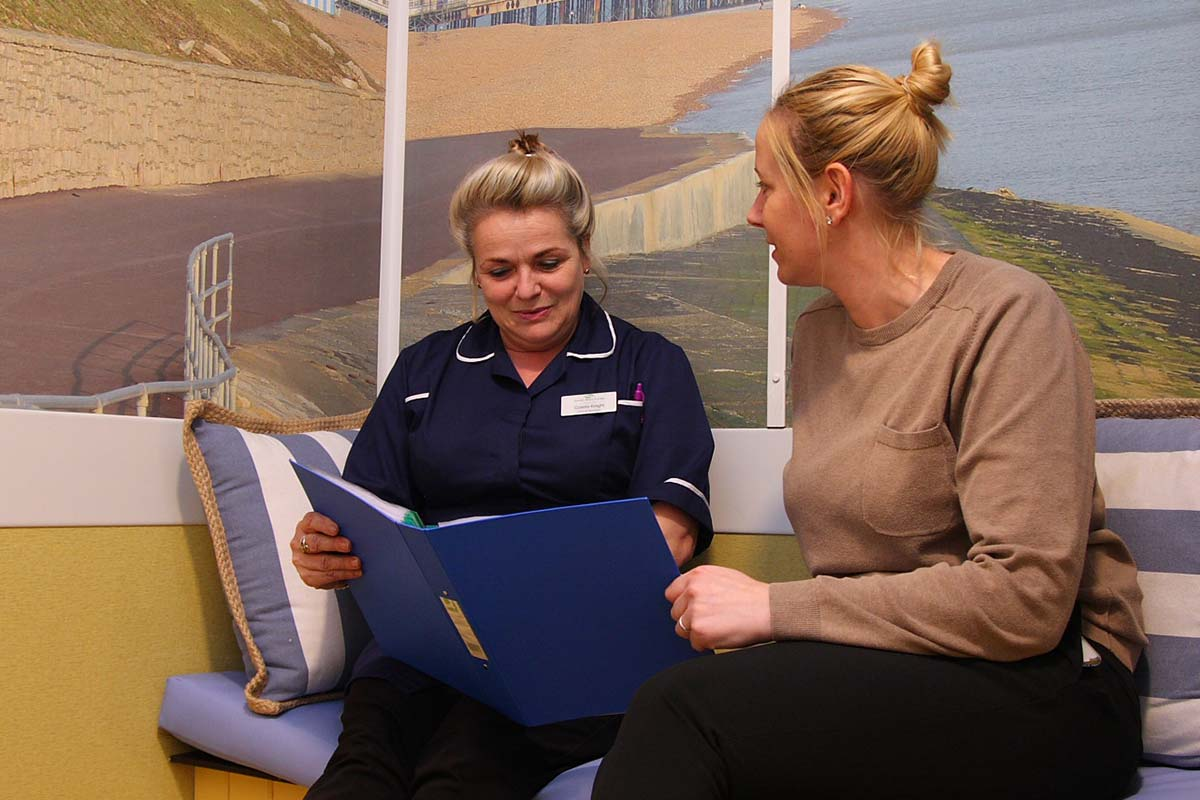 Cornerstone Clinical Manager looking at folder with relative