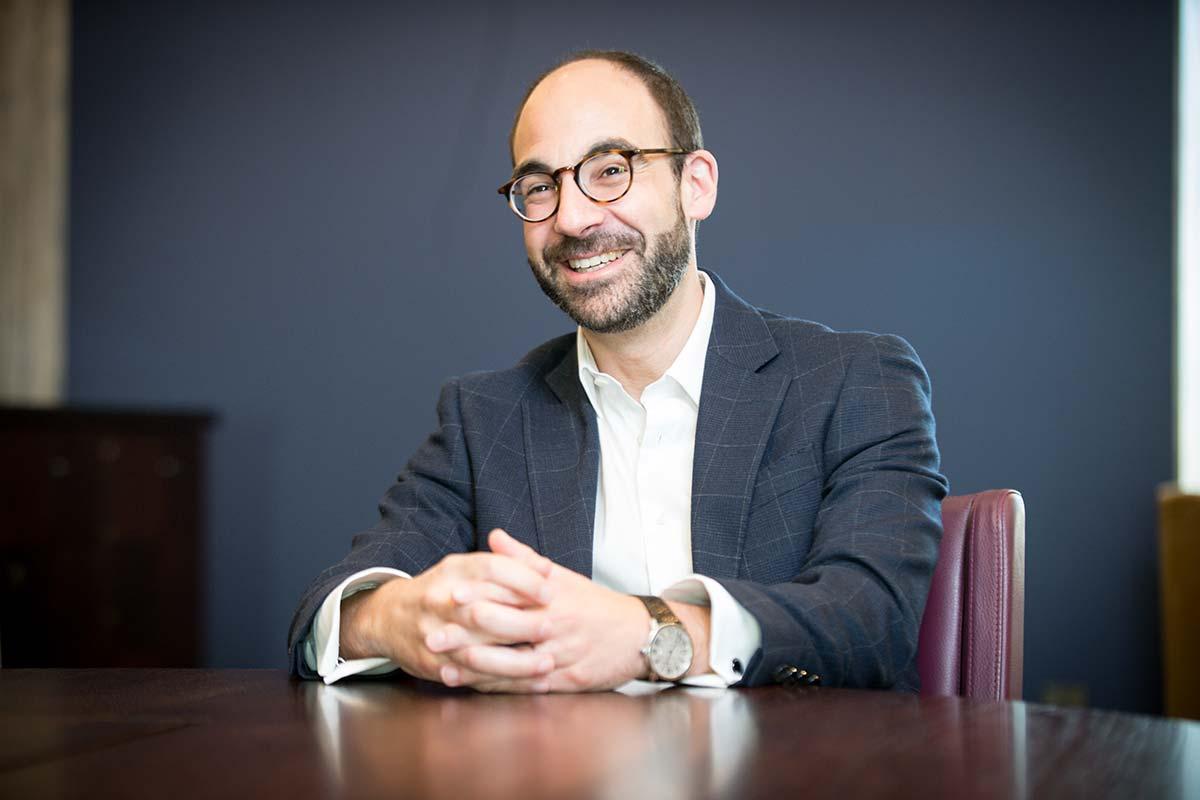 Cornerstone specialist nursing home executive director Andew Leek