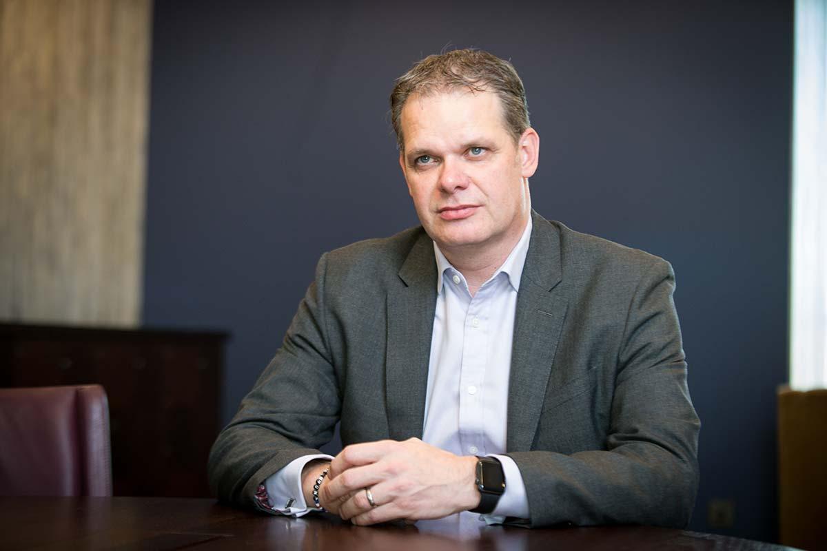 Cornerstone specialist nursing home executive director Gunnar Sigurdsson