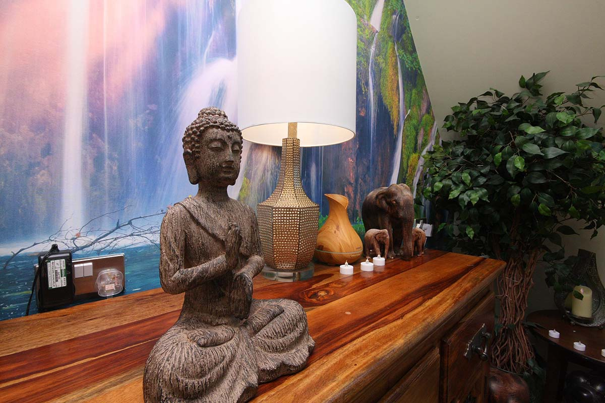 Cornerstone Specialist Nursing Home Namaste Therapy Room - Buddha