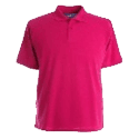 Cornerstone pink polo shirt activity coordinator