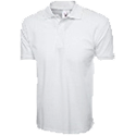 Cornerstone white polo shirt chef