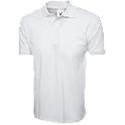 Cornerstone white polo shirt chef