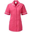 Cornerstone pink polo shirt activity coordinator